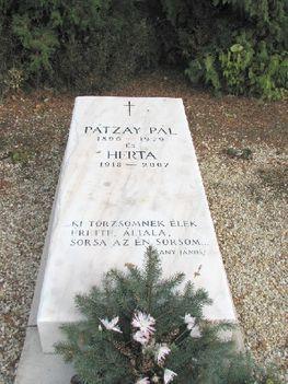 Pátzay Pál síremléke