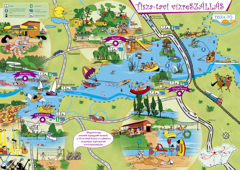 tisza tó térkép Inspiráció szeretet motiváció vallás hit: Tisza tó Vízreszállás  tisza tó térkép