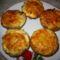 zöldséges-húsos muffin