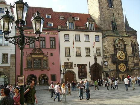 Prágában minden gyönyörű 11 óvárosi tér