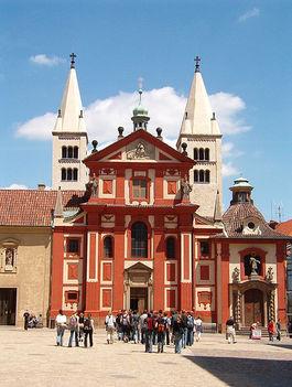 Prágában minden gyönyörű 4 szent Gy. bazilika