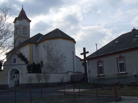 A barbacsi templom bejárata