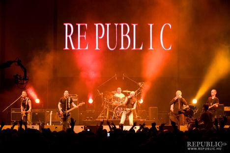 Republic az Arénában ünnepel