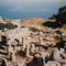 Antik Théra, a Messavuno tetején (a sziget hajdani fővárosa)