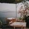 Étterem Manolasban, Thirassián - kilátassal a Vulcanora és Santorinire