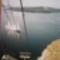 Fira, függőkabinok is közlekednek  a kikötő felé