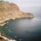 Thirassia, a Caldera egyik szigete - kikötő