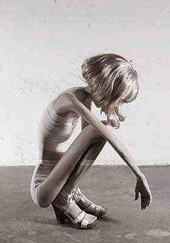 32 kiló a címe Ivonne Thein német fotóművésznő