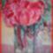 Piros virág tél végén