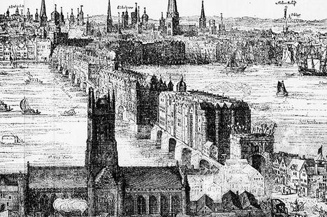 London Bridge 1616-ból