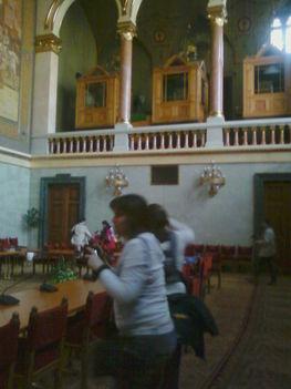 Delegációs terem a Parlamentben