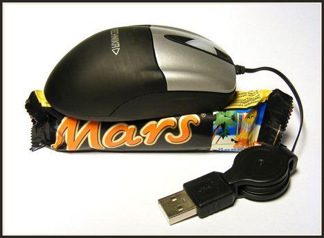 Egér a Marson