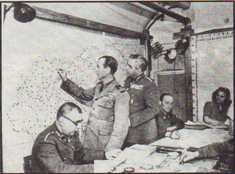 Gellérthegyi légiirányítás 1944-ben
