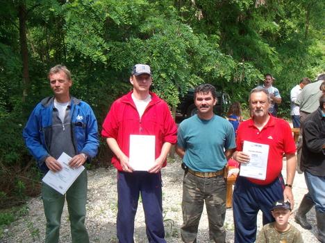 Horgászverseny nyertesei