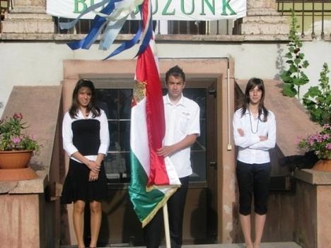 Zászló tartó