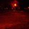 Gombás szökőkút helye éjjel 2010.03.20.