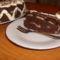 Banános csokitorta szelet