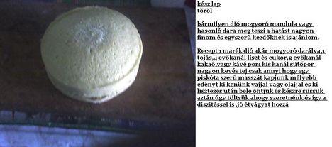 kesz. Zsúr torta
