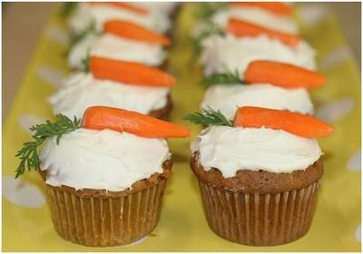 Húsvéti répás muffin