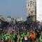 Critical Mass bringaemelés az Erzsébet-hídon