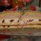 eperjoghurtos torta félben