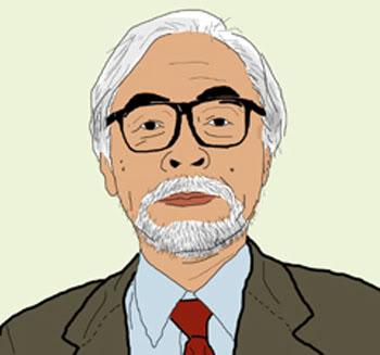 Hayao Miyazaki - rajz