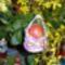 Dekopázs tojás horgolt kosárban