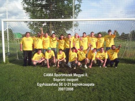Egyházasfalu SE (U-21) bajnokcsapata