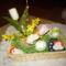 Húsvéti kosárkák, asztali és ajtó díszek. 10