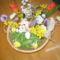 Húsvéti kosárkák, asztali és ajtó díszek. 12
