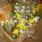 Húsvéti kosárkák, asztali és ajtó díszek. 9