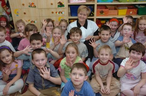 Veszprémvarsányi iskolások