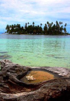 Csende óceán partja Panama
