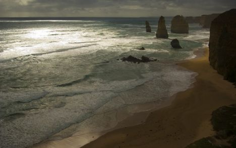 Tizenkét apostol sziklája Victoria  Ausztrália