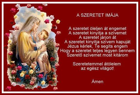 szeretet_imaja Szűzanya
