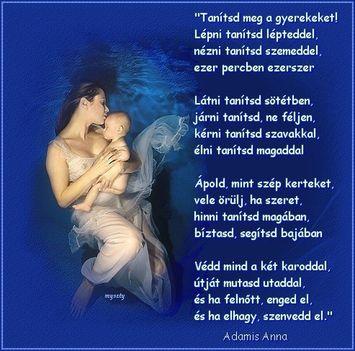 Tanítsd meg gyermekedet...