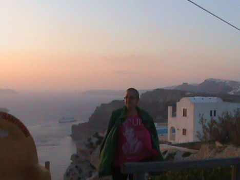 Santorini télen