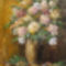 Viragos csendelet 1, 60x40cm,olajfarost