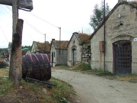 Bogács -  Cserép úti pincesor ( Bükkalja borvidék )