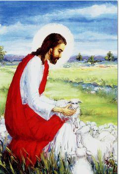 Jézus a bárányokkal