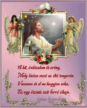 JÉZUS hit, önbizalom és erény.