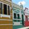 Olinda élénk színű házai