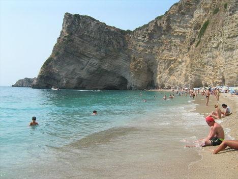 Paradise beach, Korfu