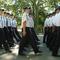 rendőravatás a Széchenyi téren