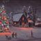 Karácsonyi táj 1.