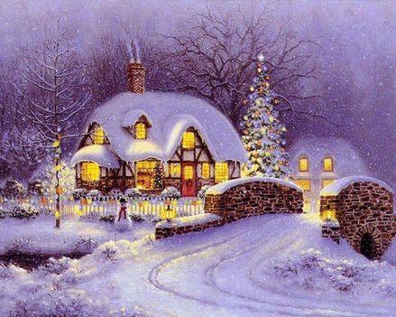 Karácsonyi táj 2.