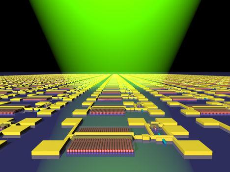 Nanohuzalos áramkör diagram