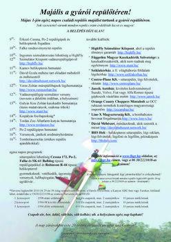 lhgr MAJÁLIS részletes program