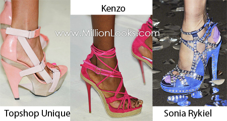Trendi cipők 2010 tavasz-nyár