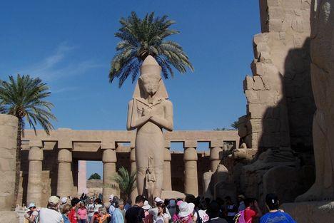 Egyiptom 2008. Karmak.
